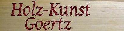 Holz-Kunst-Goertz.de- Logo - Bewertungen