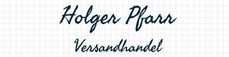 Versandhandel Holger Pfarr