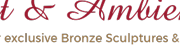 www.Art Bronze Sculptures.com- Logo - reviews